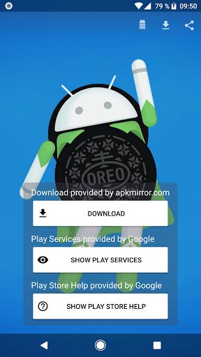 Versão da Play Store