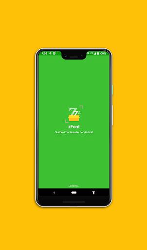 zFont - Instalador de fontes personalizado [sem ROOT]