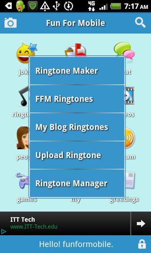 Ringtones e Chat FunForMobile