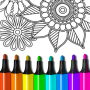 icon Coloring Book for Adults