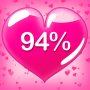 icon Are You in Love Calculator by Fingerprint