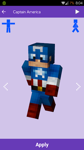 Skins para Minecraft: MineSkins