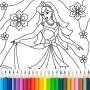 icon Princess Coloring Game