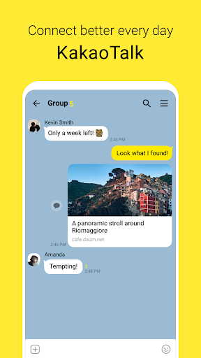 KakaoTalk: chamadas gratuitas e texto